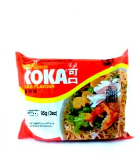 Koka Crab Instant Noodles | Buy Online at The Asian Cookshop.